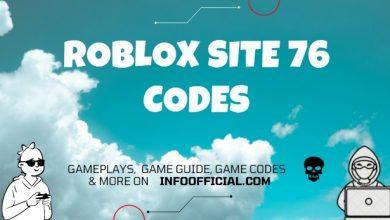 Roblox Site 76 Codes