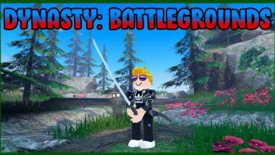 Roblox Dynasty Battlegrounds Codes