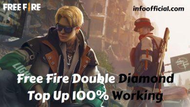 Free Fire Double Diamond Top Up
