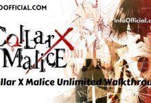 Collar X Malice Unlimited Walkthrough
